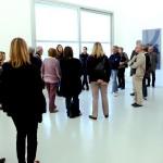 Les Visiteurs du Samedi 14 Novembre 2015 – Espace de l'Art Concret © Julien Mc Laughlin