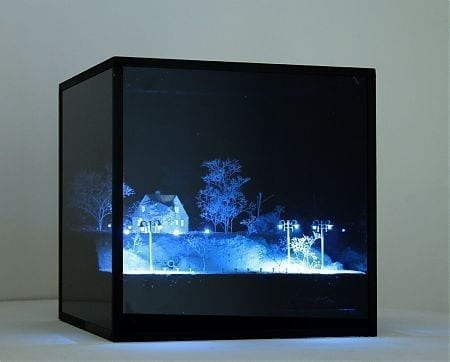 Glitched #1, 2014' 'Mathieu Schmitt, dimensions:'30 x 30 x 30 cm Courtesy Galerie Catherine Issert