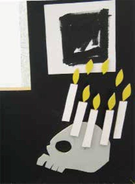 La Maison penchée, détail, Ingrid Maria Sinibaldi