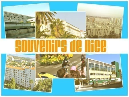 Serie postcard from home _ Souvenirs de Nice -  Busson mail
