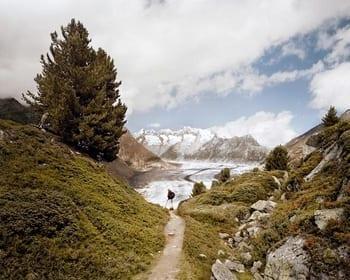 Jürgen Nefzger, photographie - Aletsch Glacier, Switzerland, 2006, série Panta Rhei, 99x125cm, éd. 6