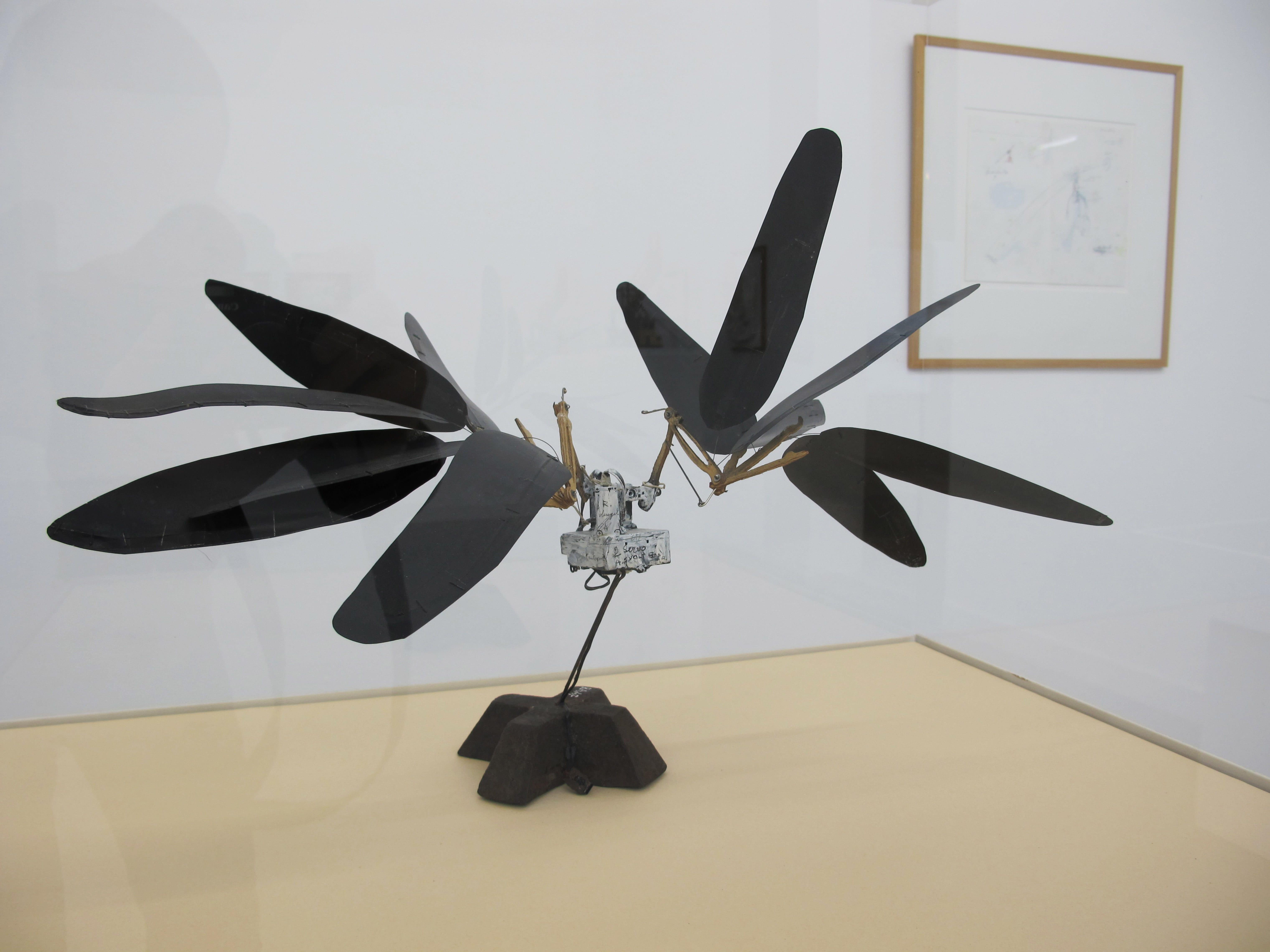 Bricologie-Panamarenko-Raaf-Corbeau-1997-2