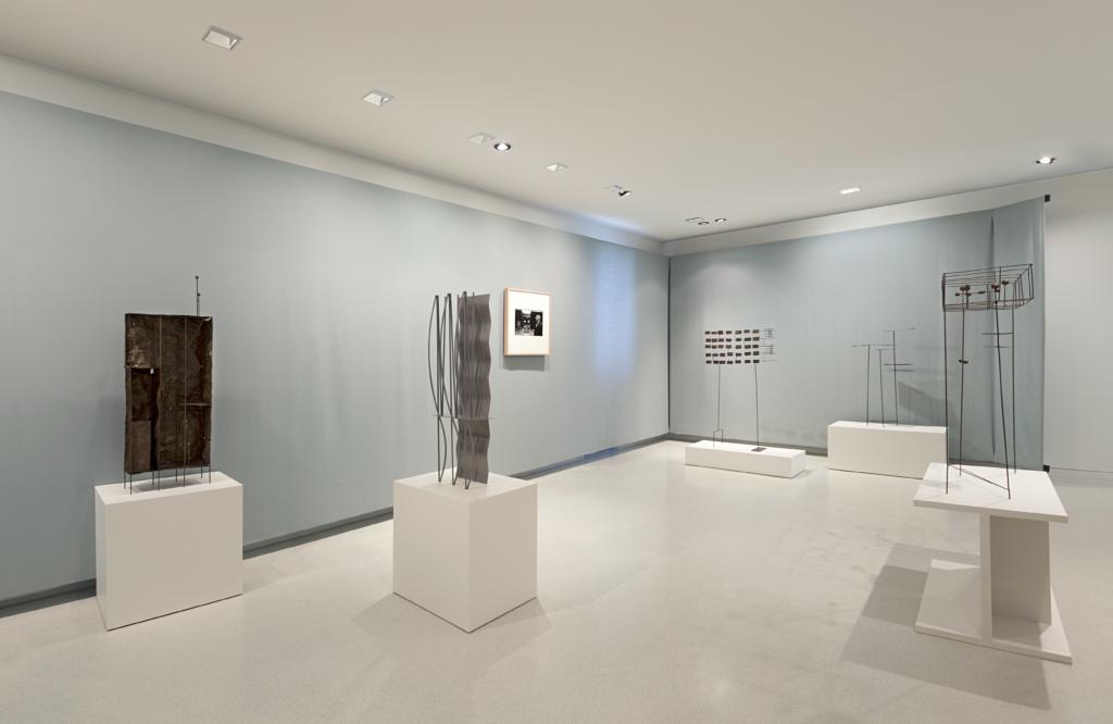 Vue d'exposition Fausto Melotti - NMNM - Villa Paloma - Photo : NMNM/Andrea Rossetti, 2015