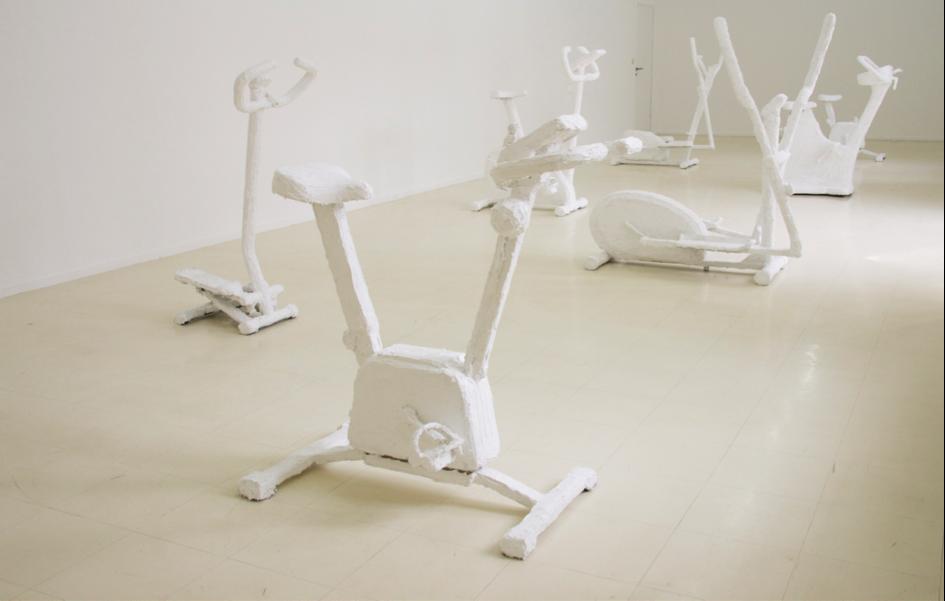 White Fitness, 1 à 12, 2013- appareils de Fitness, silicone blanc