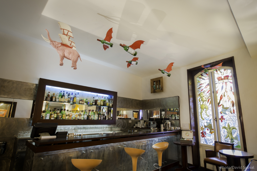 Installation « Bar barrit » – Nicolas Rubinstein – photo © David Sauval