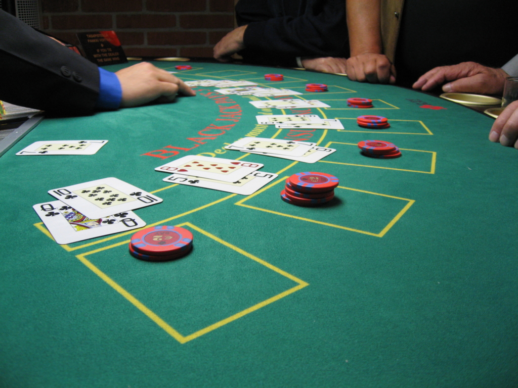 Public_domain--Blackjack_board