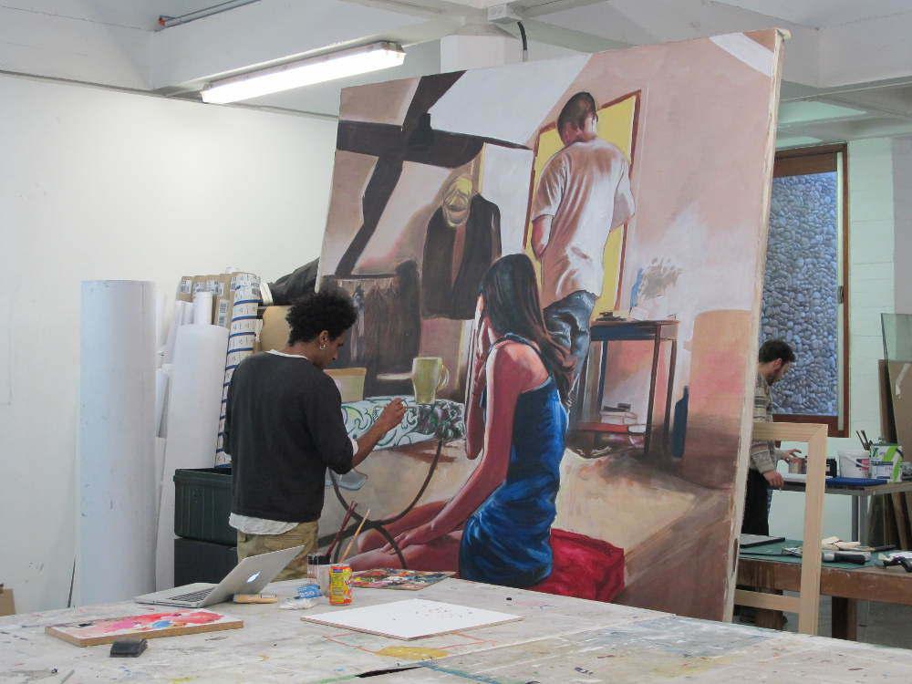 Villa Arson-Ateliers-peinture