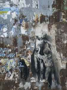 Parcours Jean Genet, port de Brest, juin 2006 - sérigraphie en situation - © ADAGP, Paris, 2016