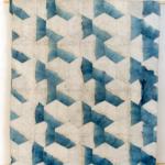 Jean-Pierre Pincemin, « Sans titre », 250 X 206 cm, Technique mixte