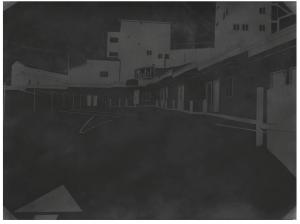 Black Motel Paradise, 2016 56 x 76 cm, fusain sur papier