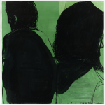 Jean-Charles BLAIS, Sans Titre, 113 x 115,5 cm, 2015 courtesy Galerie Catherine Issert