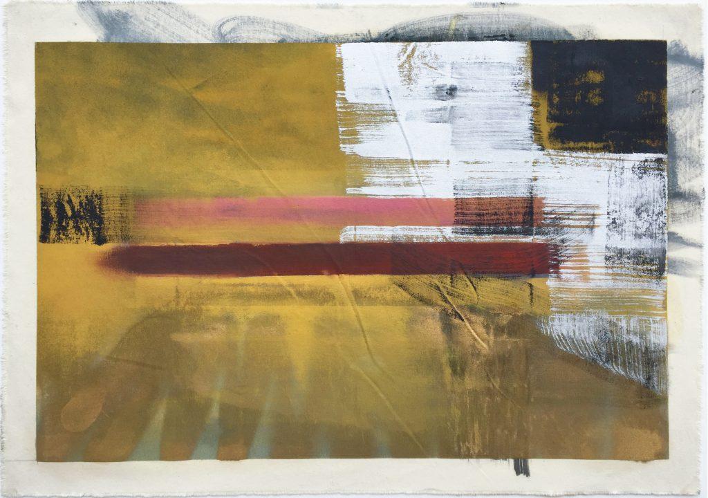 Anne Pesce NY #8 2013 Huile sur toile libre 70 x 100 cm
