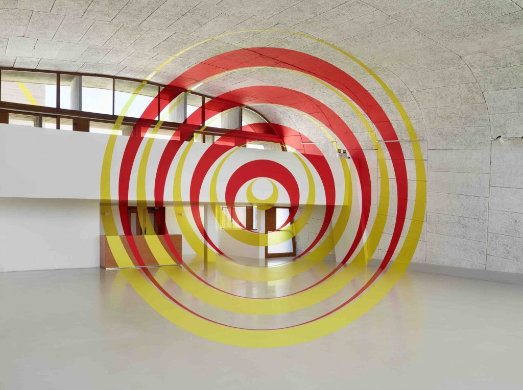 """Exposition: """"A ciel ouvert"""" MAMO- Centre d'Art de la Cité Radieuse, Marseille Photo: André Morin"""