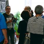 Les Visiteurs du Samedi 24 Septembre 2016 – Visite privée des ateliers d'artistes des Abattoirs © Julien Mc Laughlin