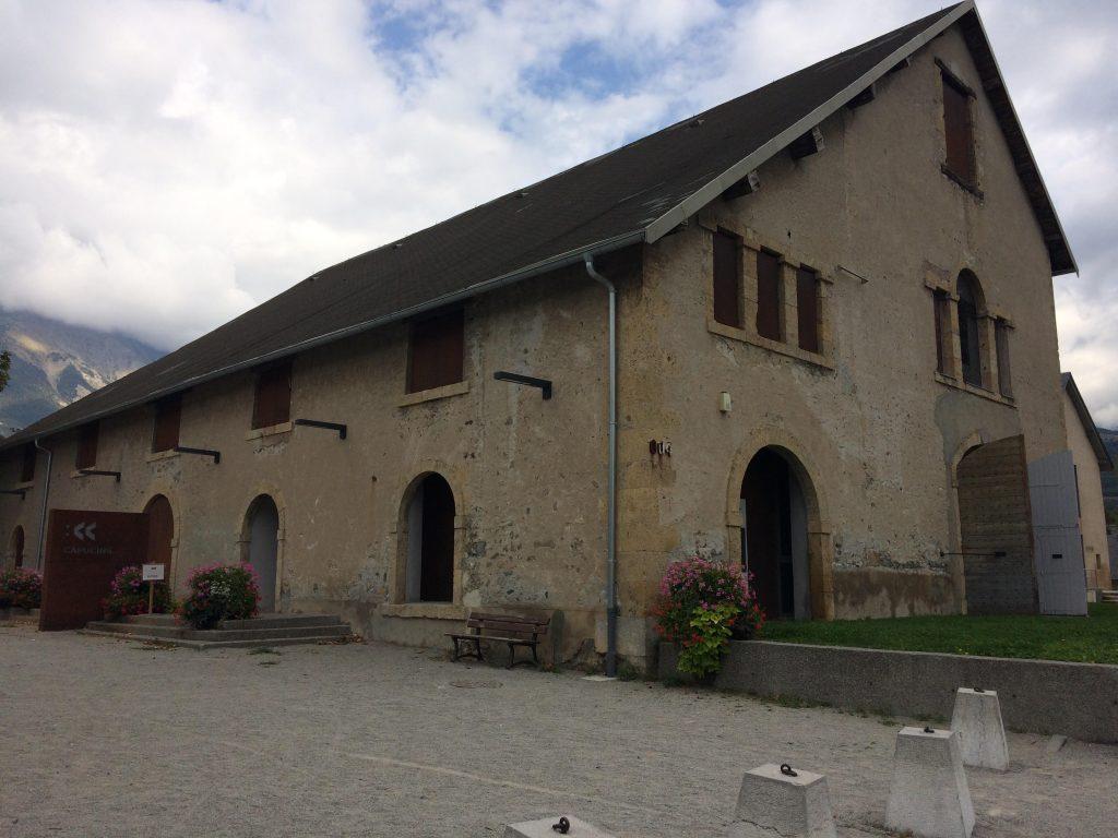 Vue extérieure de la chapelle des Capucins - Photographie : Sandrine Moracchini