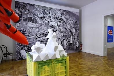 Vues de l'exposition à Biennale de Brno 2016 (République Tchèque) Photo : Sandrea Bratru Velnerova