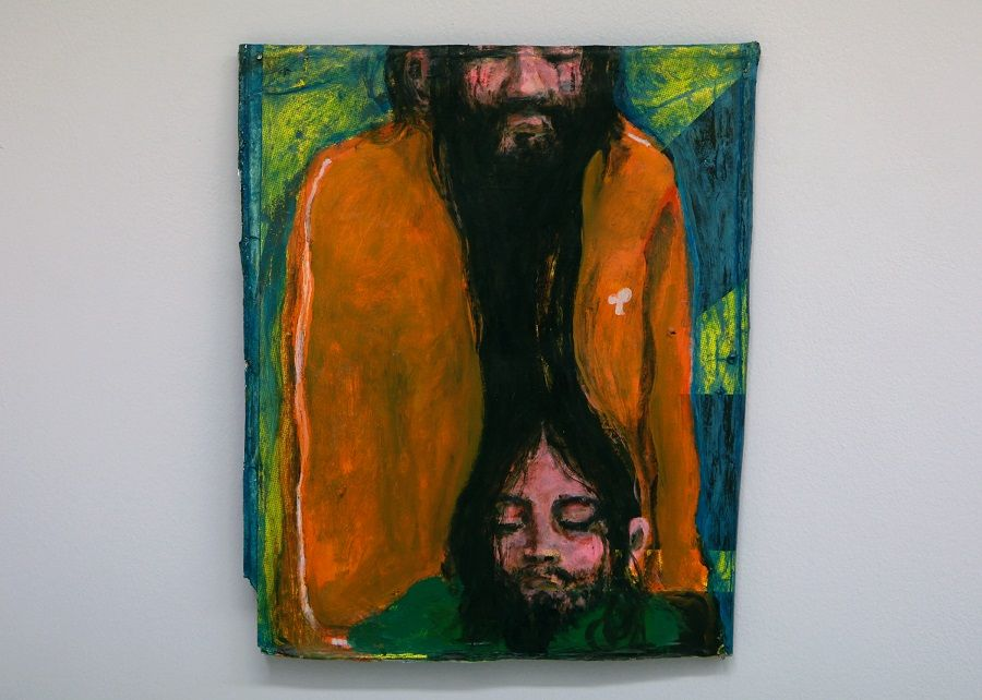Les Visiteurs du Samedi 21 Mai 2016 – Galerie Catherine Issert – exposition Jean-Charles Blais © Julien Mc Laughlin