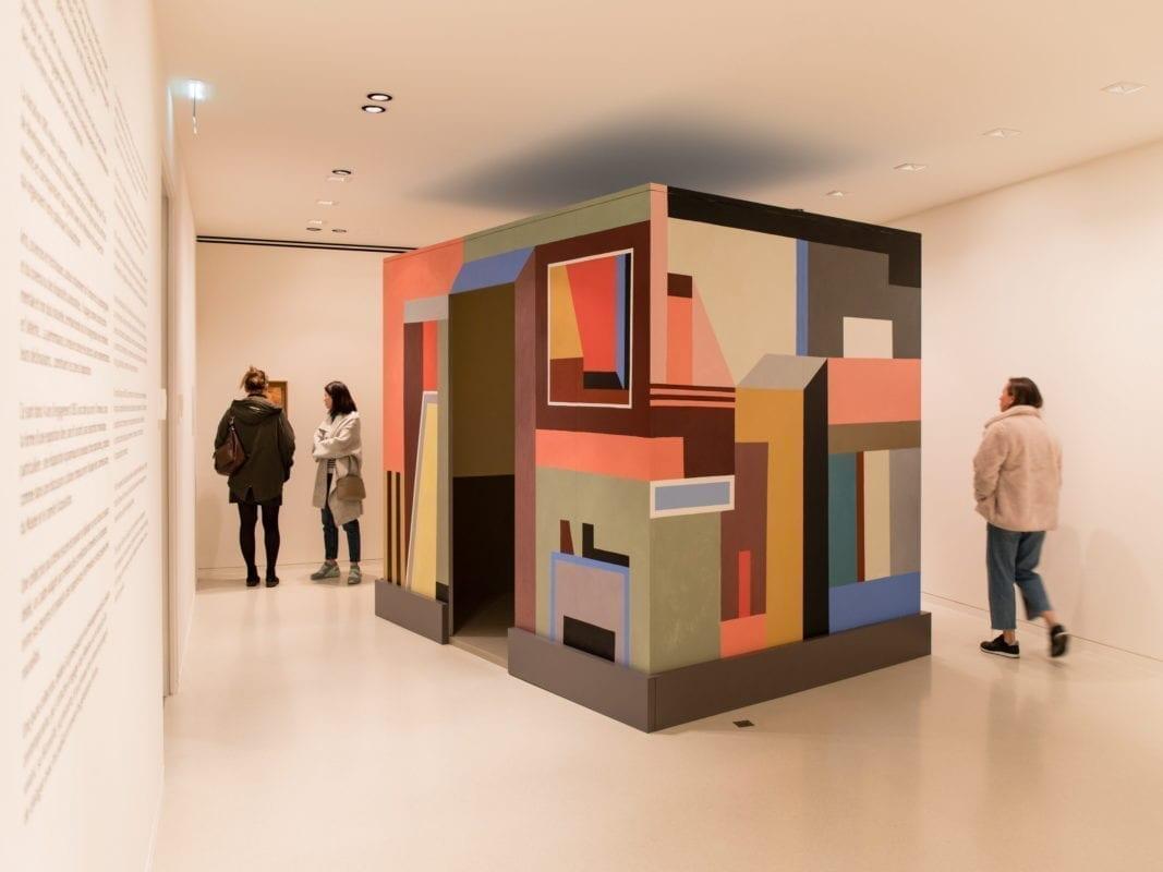 """Exposition """"La poétique de la couleur"""" d'Alfredo Volpi © Evelyne Creusot"""