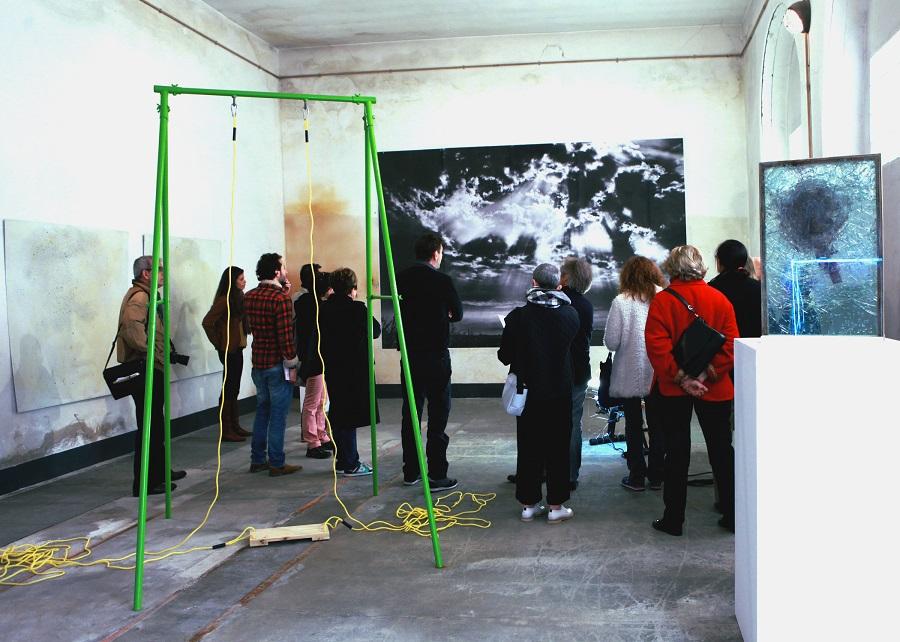 Les Visiteurs du Samedi 19 Mars 2016 – ESPACE A VENDRE – 3 Expos : Philip Vormwald (Feuilleton) / Comme dans un jardin / Tudi Deligne © Julien Mc Laughlin