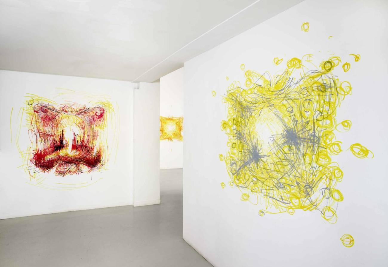 Exposition Marc Chevalier, les tableaux n'existent pas, 2019 © François Fernandez
