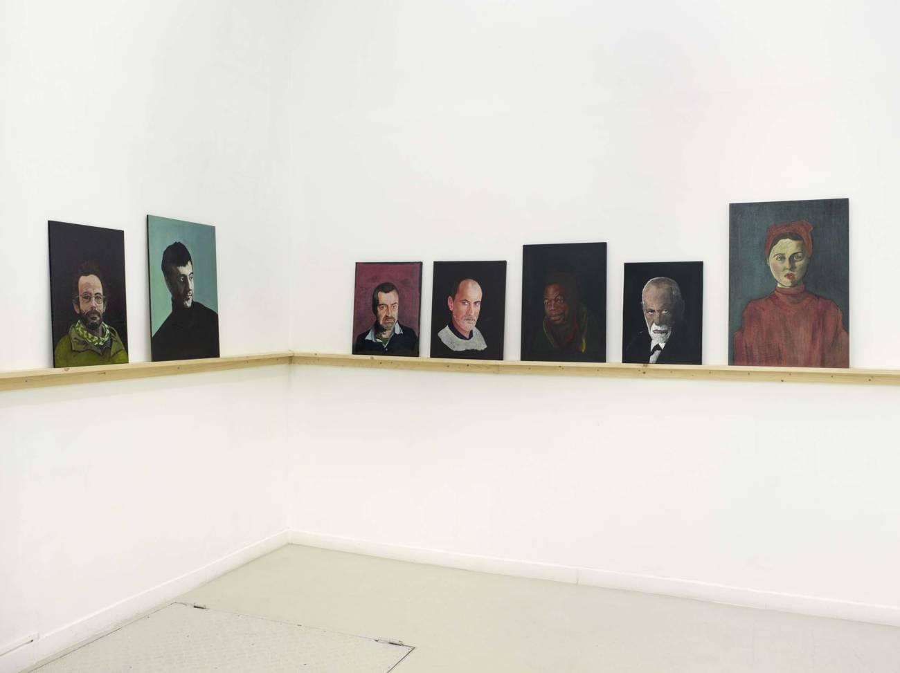 Exposition, Sandra Lecoq, Autoportrait des autres en noir 2017 © François Fernandez