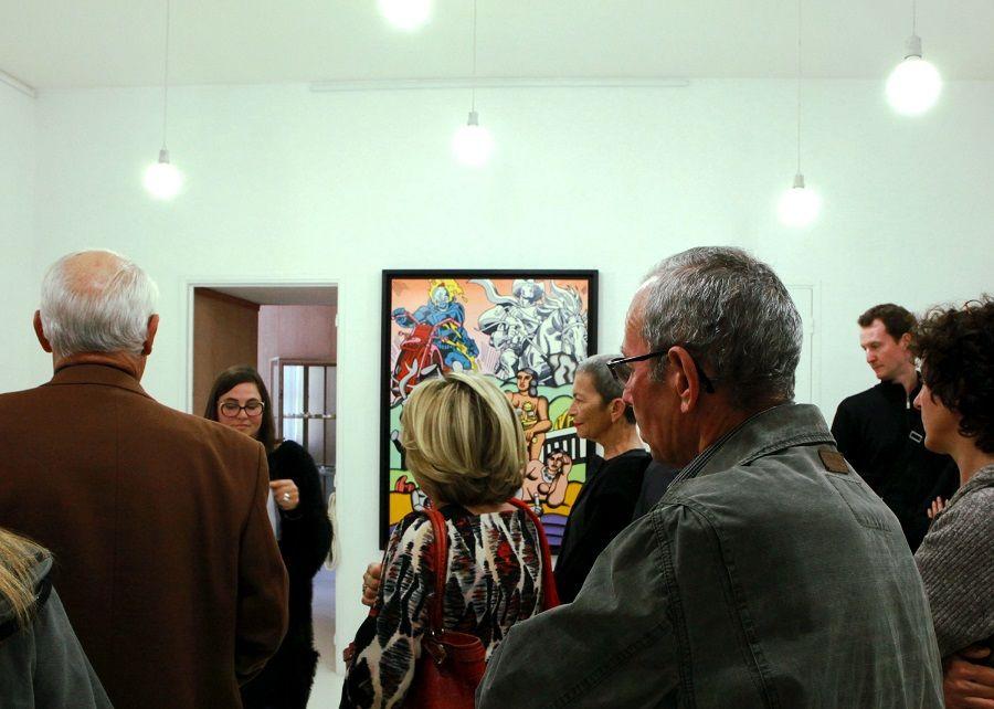 Les Visiteurs du Samedi 14 Novembre 2015 – Galerie HELENBECK