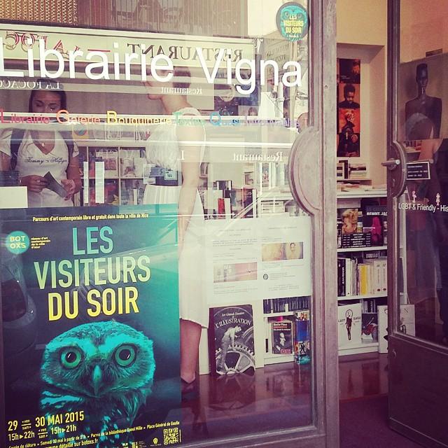 Les Visiteurs du Soir 2015 – Librairie Galerie Vigna