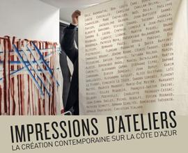 Impressions d'ateliers au CIAC de Carros et au Château Grimaldi de Cagnes-sur-Mer
