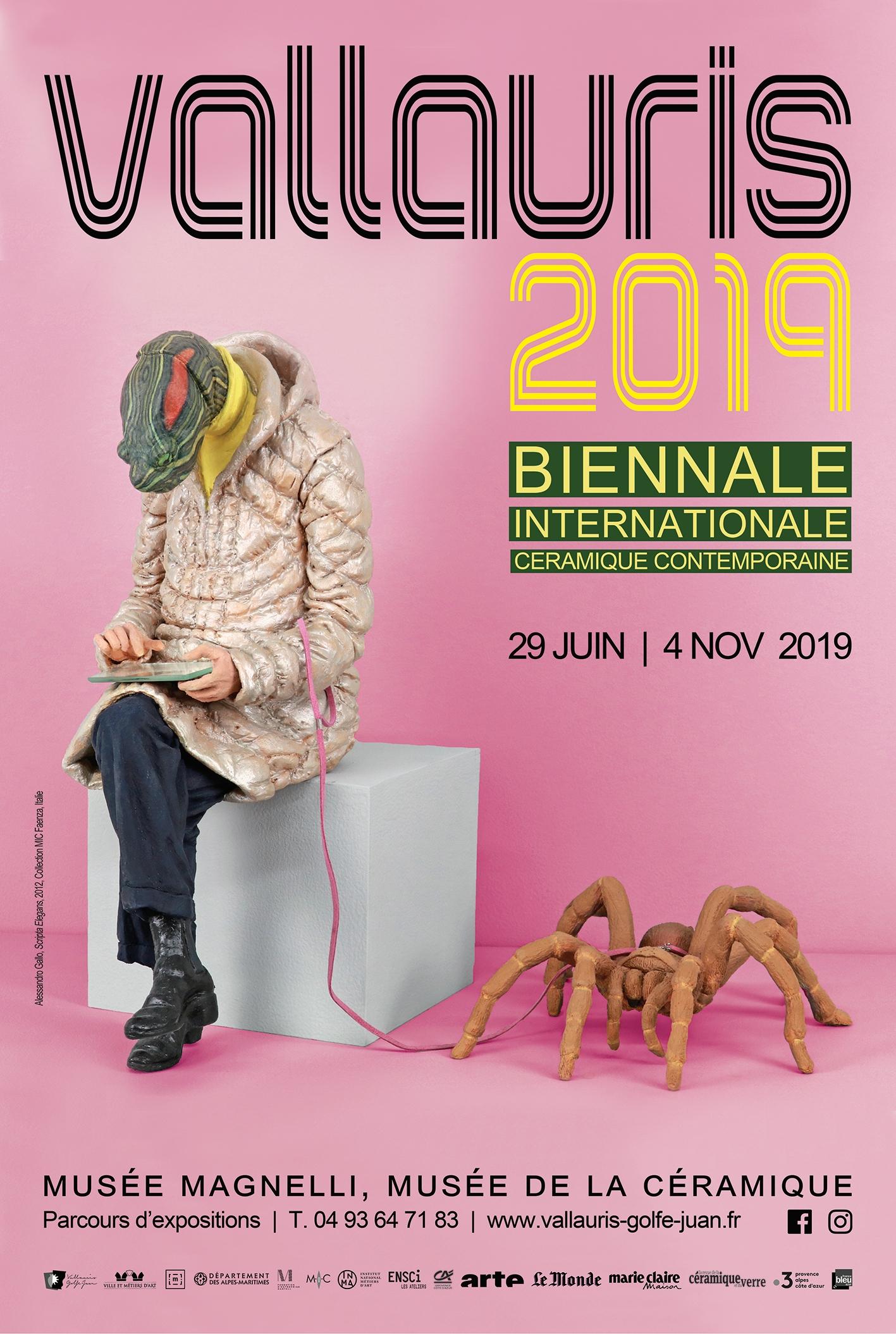 VALLAURIS 2019 / Biennale Internationale de céramique contemporaine