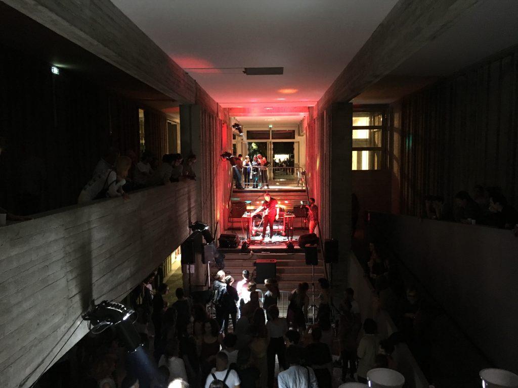 Concert de THE MAGIC RAY, soirée de clôture des Visiteurs du Soir à la Villa Arson. Photos © Elsa Comiot
