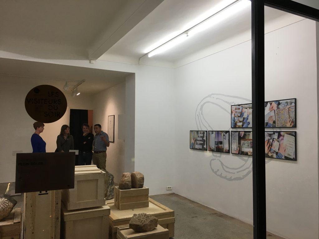 Exposition de Caroline Bouissou à la galerie Le 22. Photos © Elsa Comio