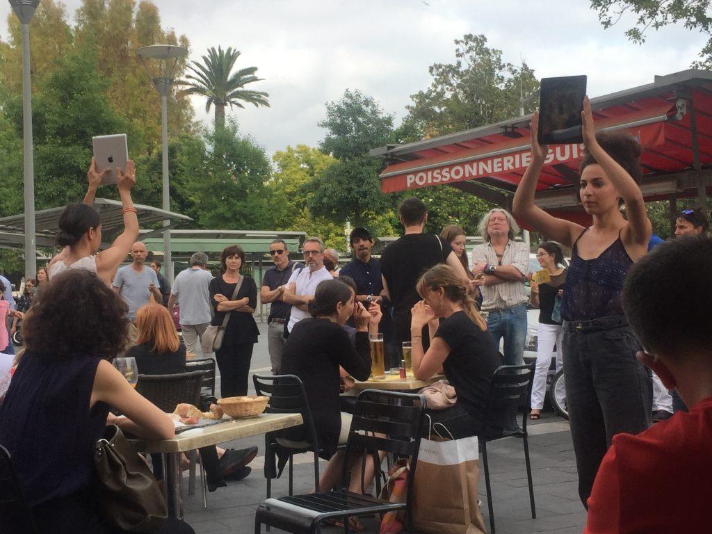 Altra Casa – Lectures performées de notes et écrits de Marcel Duchamp de l'équipe du Nouveau Musée National de Monaco © Eloi Boucher