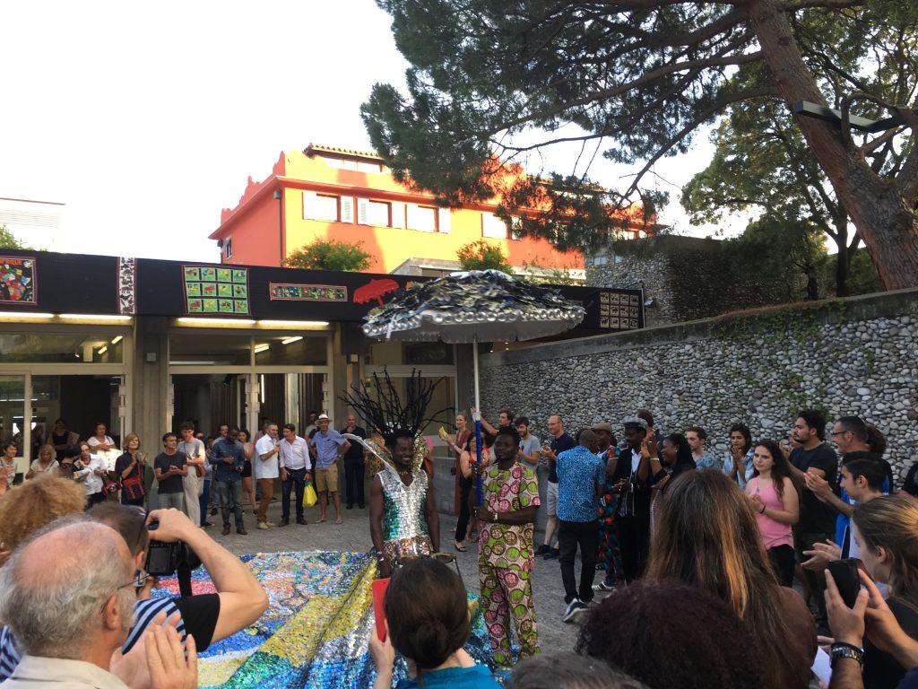 Vernissage de l'exposition Stop Ma Pa Ta à la Villa Arson. Photos © Elsa Comiot