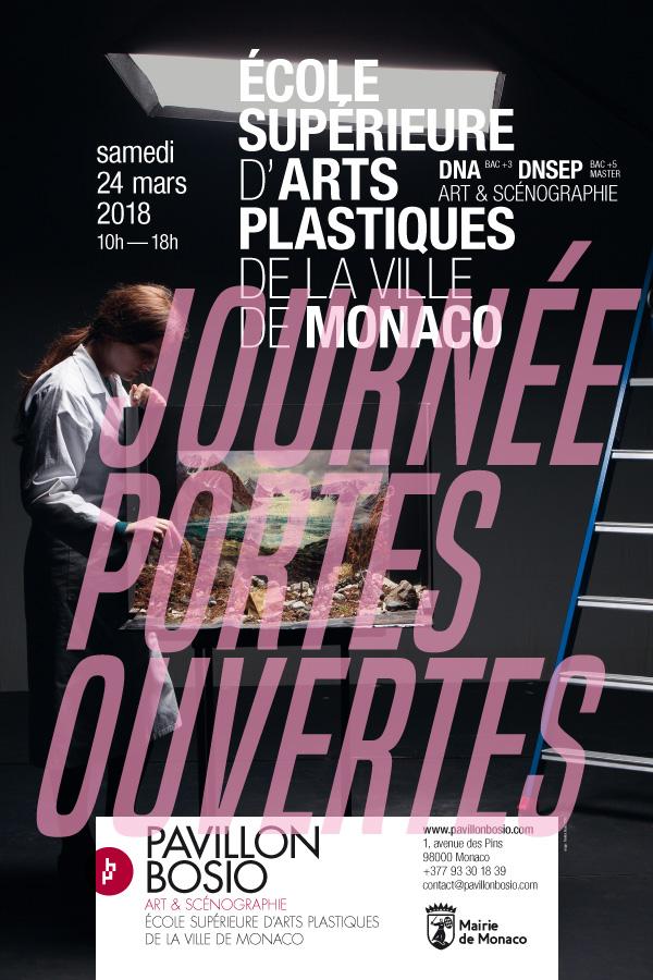 Journée Portes Ouvertes de l'Ecole Supérieure d'Arts Plastiques de la Ville de Monaco