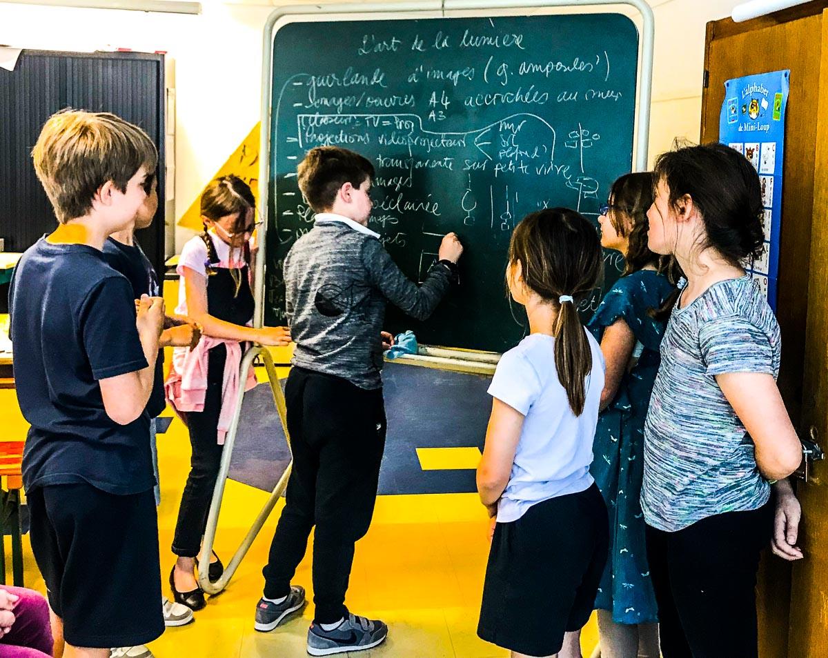 Restitutions d'ateliers pédagogiques