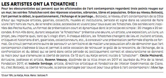 La Strada – Les Tchatches