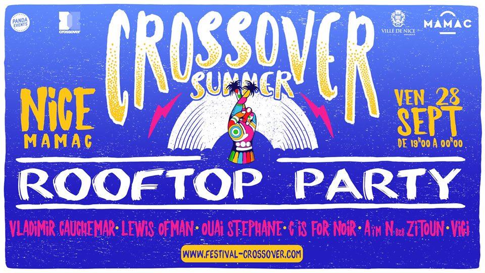 Le MAMAC en collaboration avec Crossover Summer présentent la Rooftop Party !