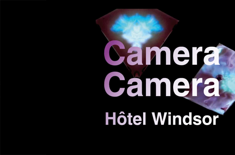 Maxime Duveau et Louis Jammes, dans le cadre du salon CAMERA CAMERA, à l'hôtel Windsor