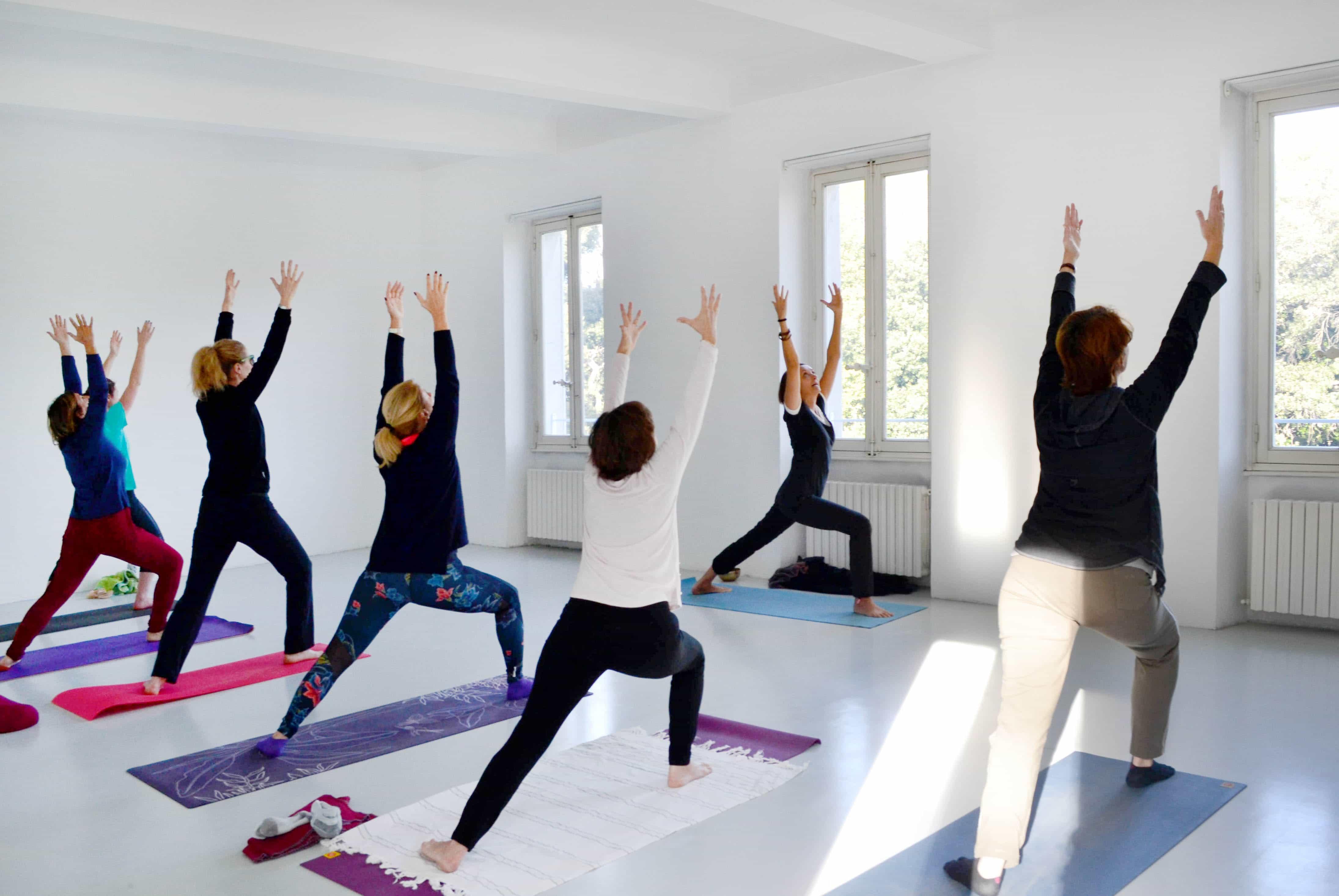 Yoga à l'eac.