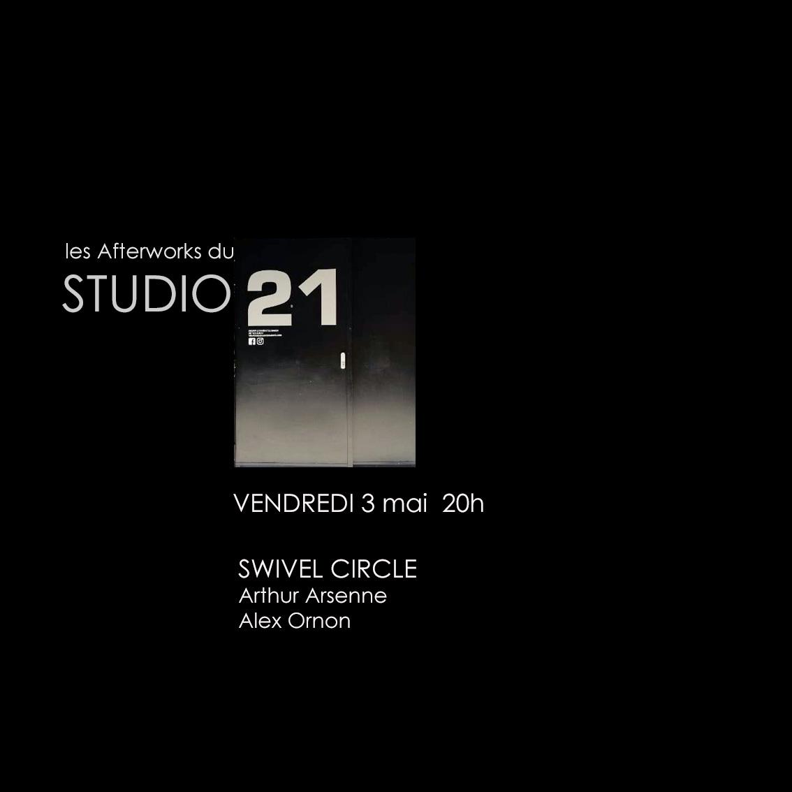 Afterwork 2 : Concert de Swivel Circle – Studio 21 / Espace Rossetti