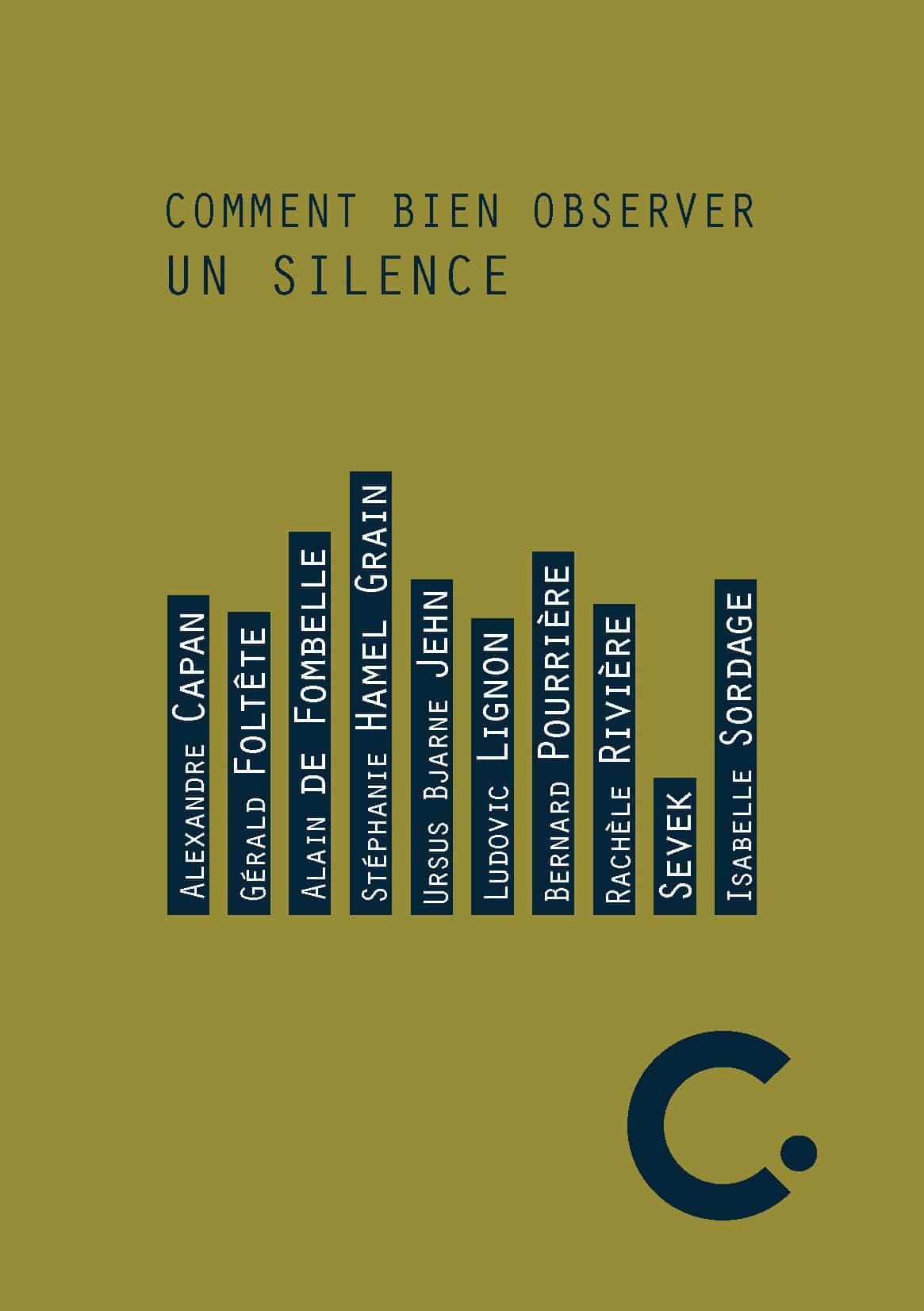 Comment bien observer un silence