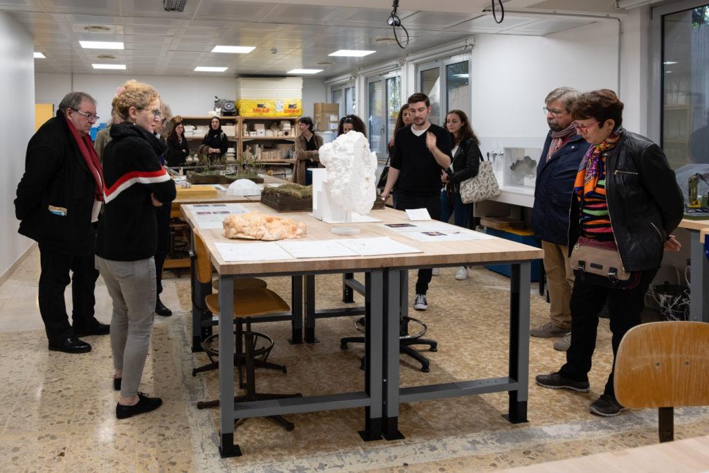 Visite du Pavillon Bosio, Ecole Supérieure d'Arts Plastiques de la… par Mathieu Schmitt © Philippe Pallanti