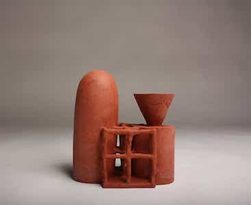 La Plateforme : From paper to clay, Exposition de Daphné Corregan