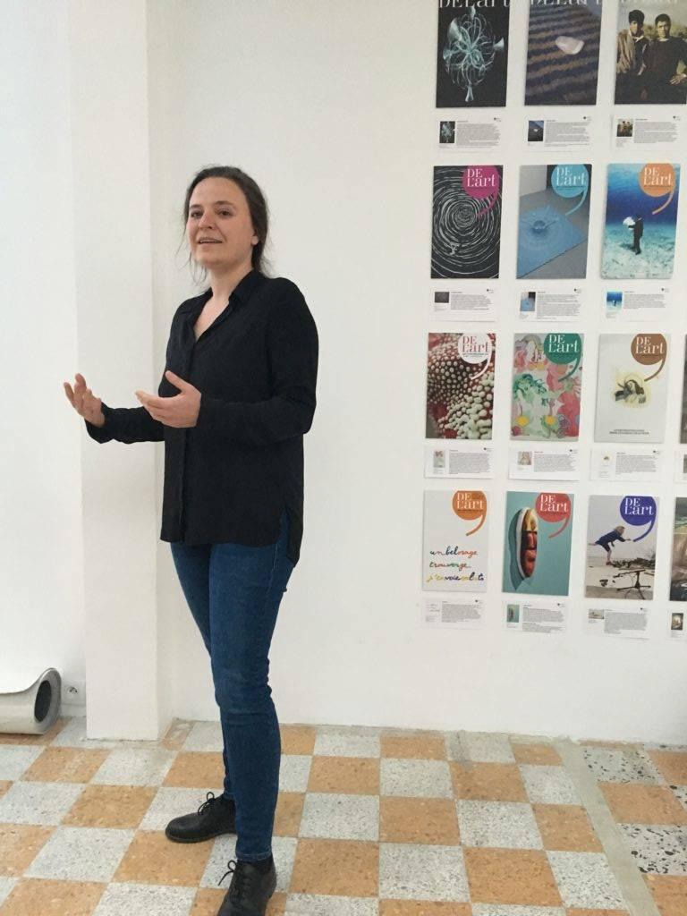 Projection-rencontre avec Kevser Güler, commissaire d'exposition turque au Narcissio, organisée par Claire Migraine / Thankyouforcoming © Elsa Comiot