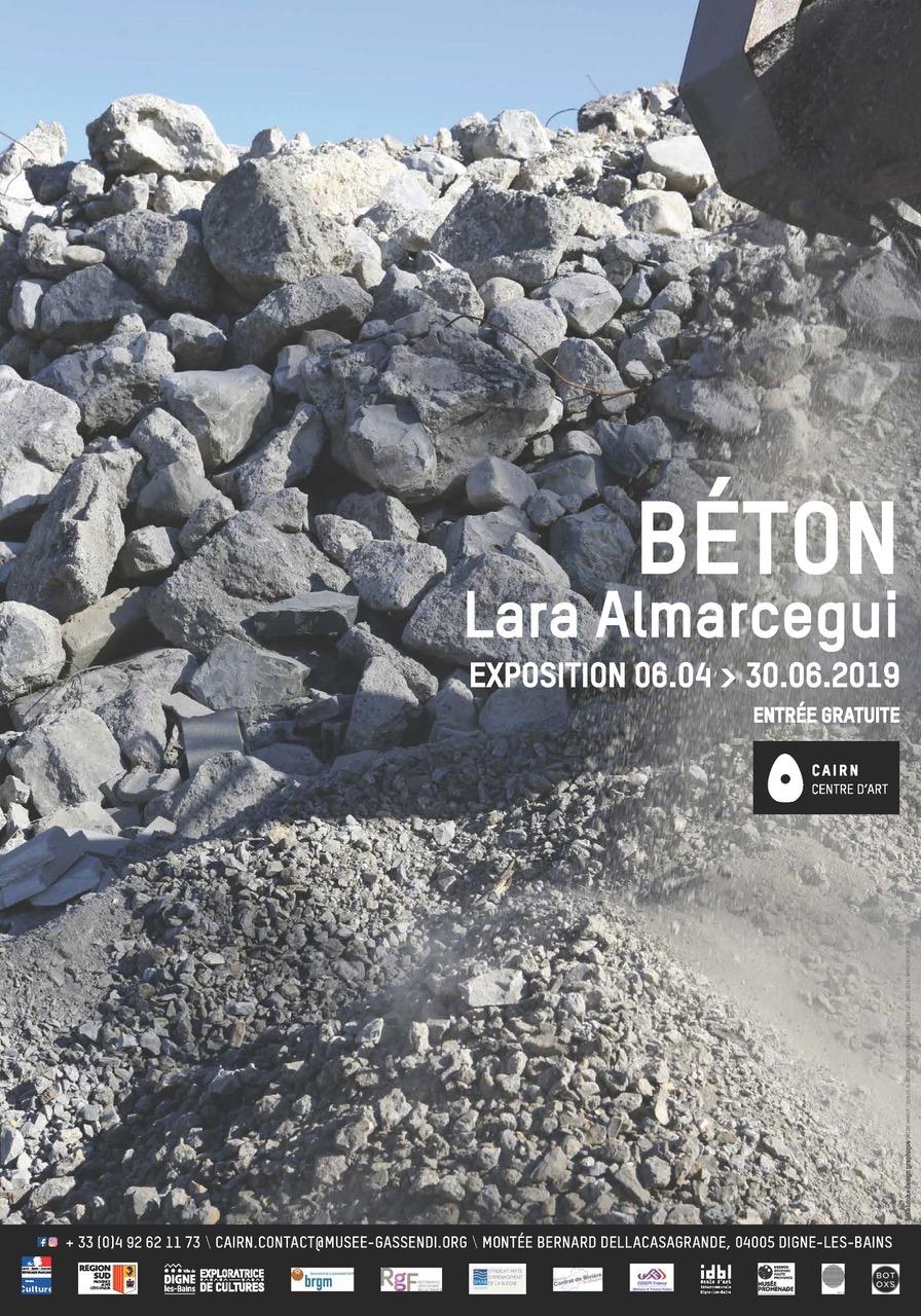 Béton, Lara Almarcegui