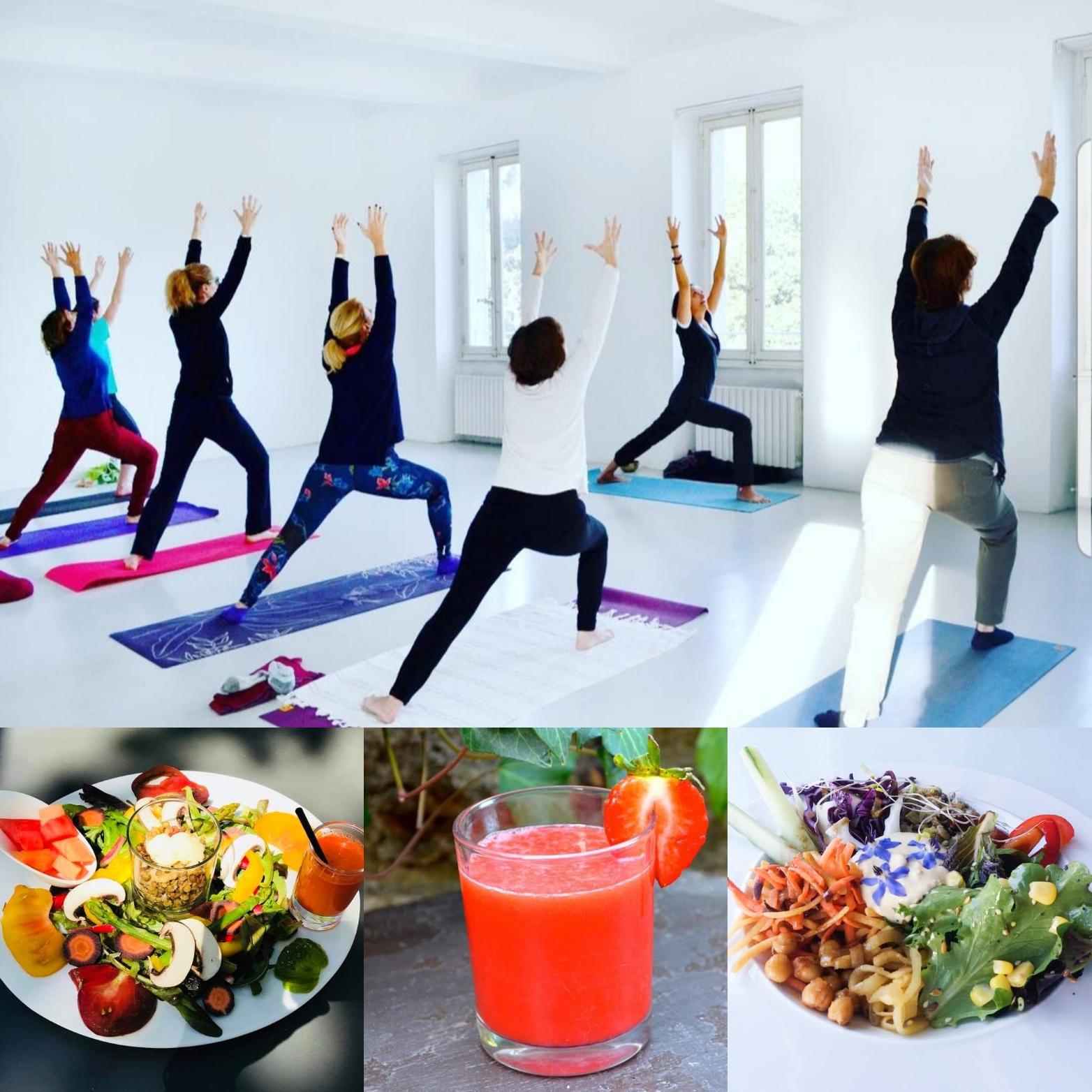 Yoga à l'eac et Brunch détox !