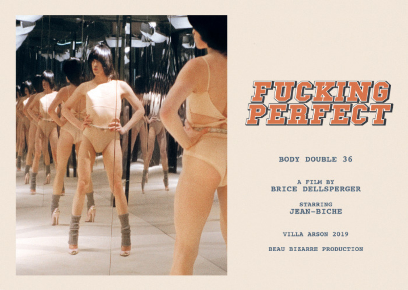 FUCKING PERFECT BODY DOUBLE 36 | Brice Dellsperger