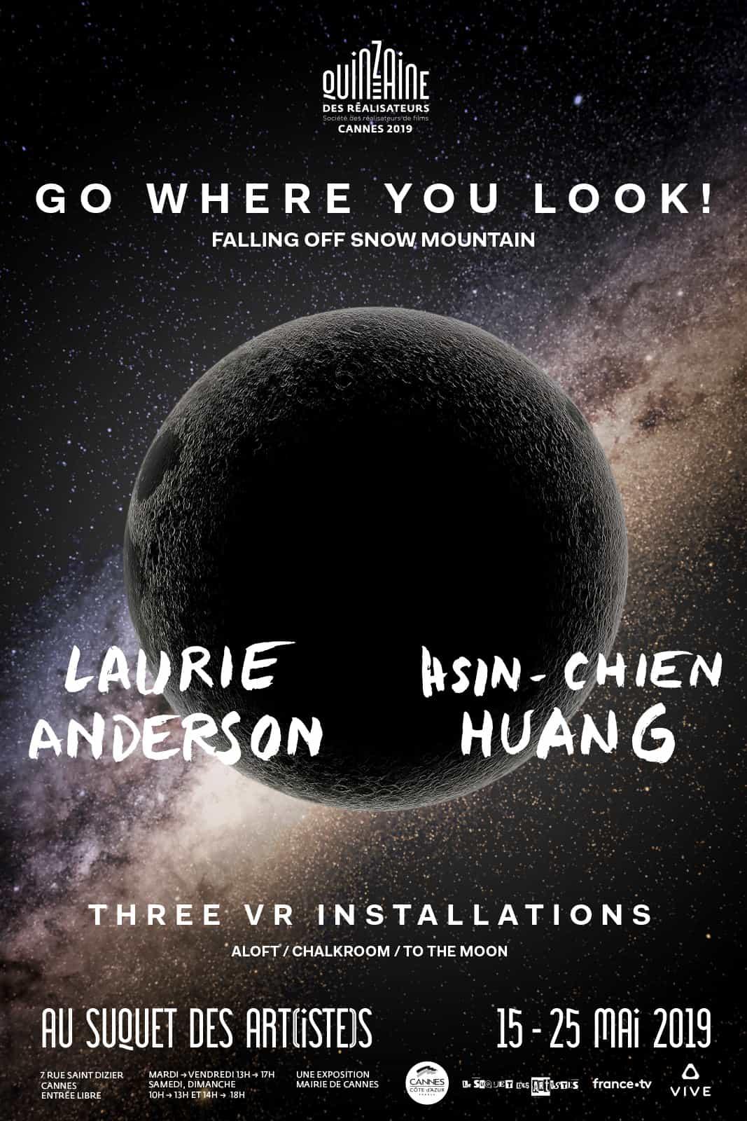 Go where you look !