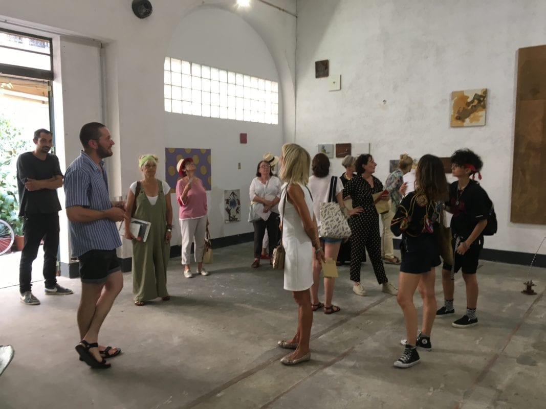 Visite de l'exposition
