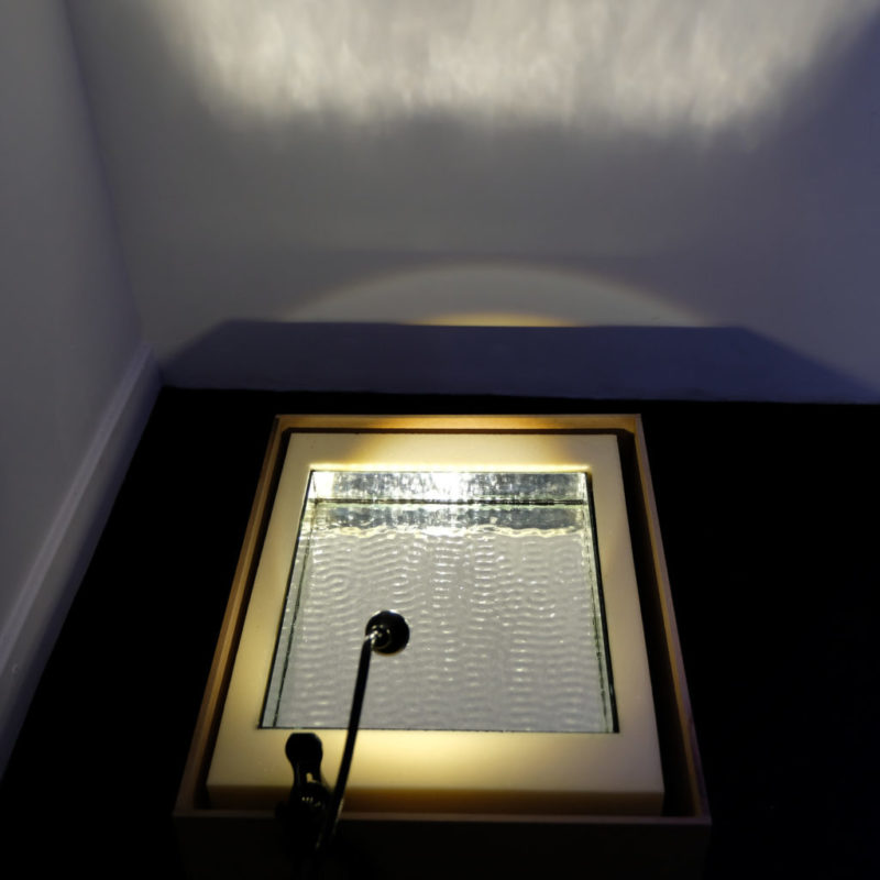 Visite de l', Espace Rossetti par Isabelle Sordage, artiste et directrice du lieu © Evelyne Creusot